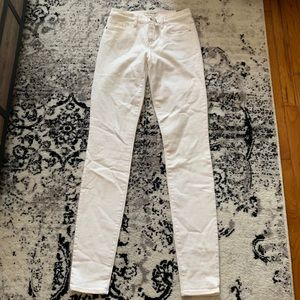 NWT Madewell skinny skinny jeans 26 tall
